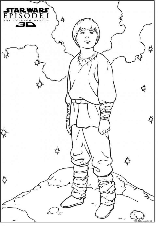 anakin skywalker 5  star wars malbuch ausmalbilder