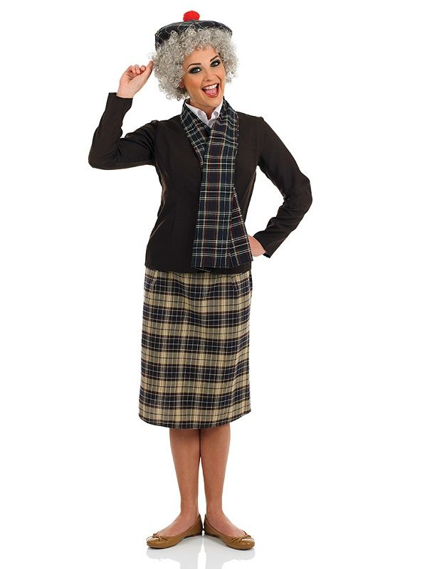 35ae26bce8 Adult Supergran Costume | Halloween | Costumes, Dresses uk, Outfits