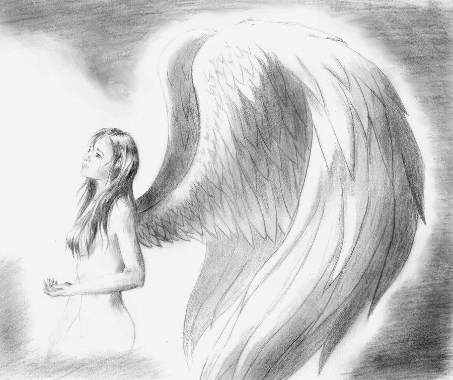 мой красивые рисунки ангелов рисунки народ бережливый, поэтому