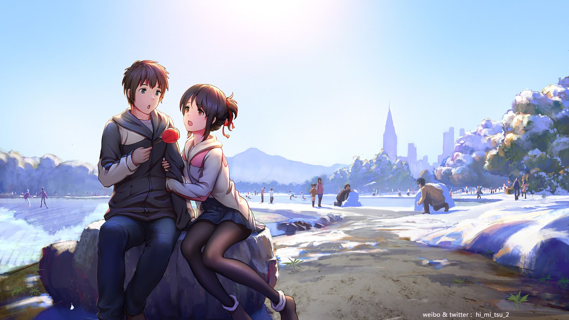 Taki Mitsuha (Kimi no na wa) (Có hình ảnh) Fans, Anime