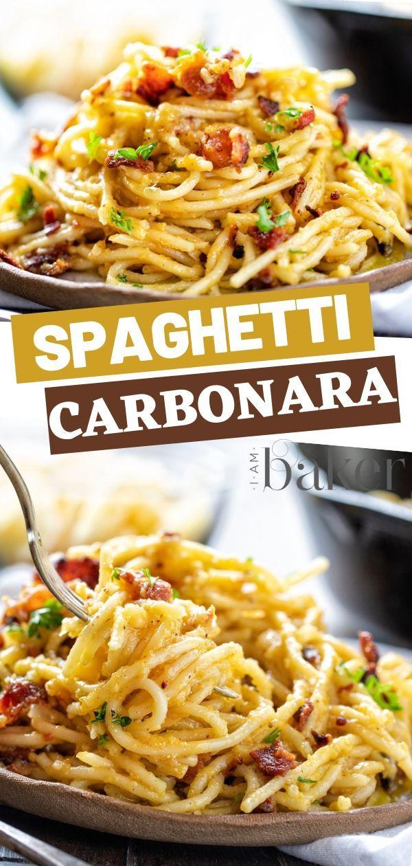 Photo of Spaghetti Carbonara