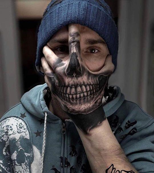 Fotografia Tatuajes En La Mano Tatuajes De Arte Corporal Tatuajes Para Hombres