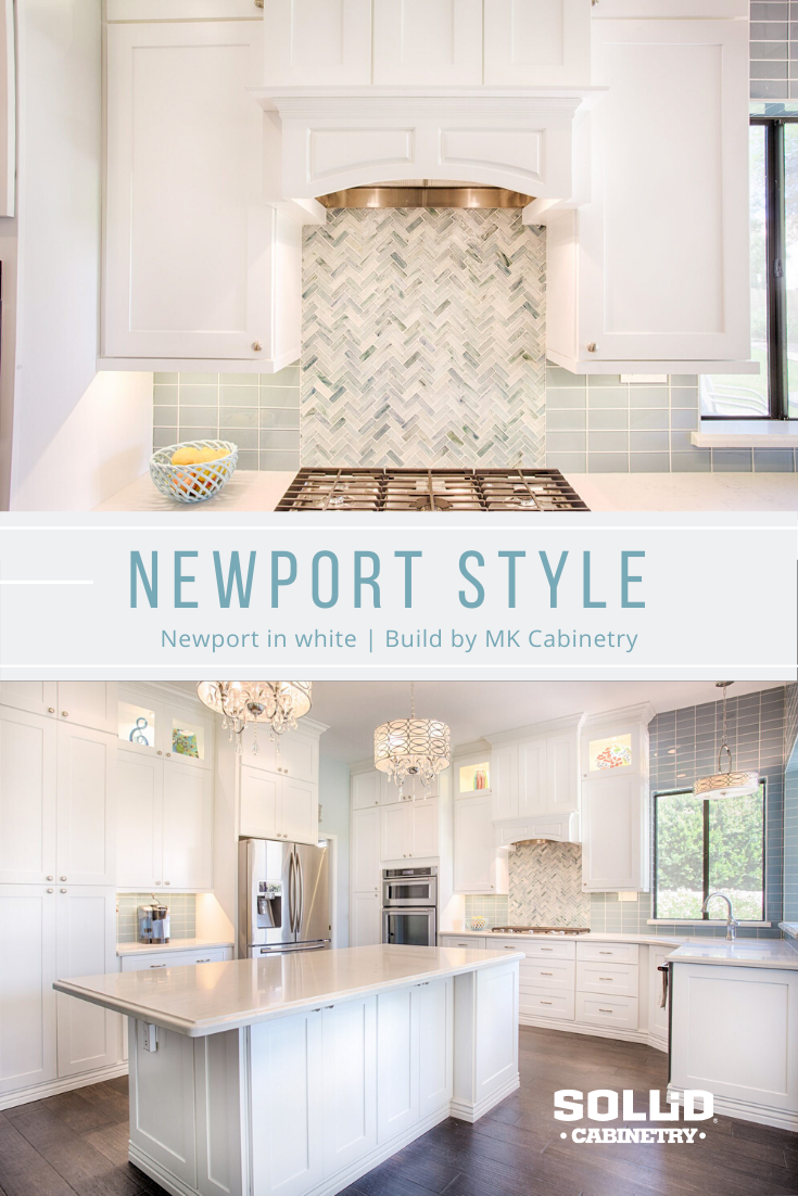 There's so much to love about this kitchen- the fun use of subtle teal, the detailed tile work, and our white Newport cabinets! Beautiful build by MK Cabinetry #whitekitchen #beautifulkitchen #kitcheninspo #kitchenideas #kitchendesign #shaker #shakerkitchen #interiordesign #kitchencabinets #housetohome #familykitchen #tealkitchen #bigkitchen #kitchencabinets