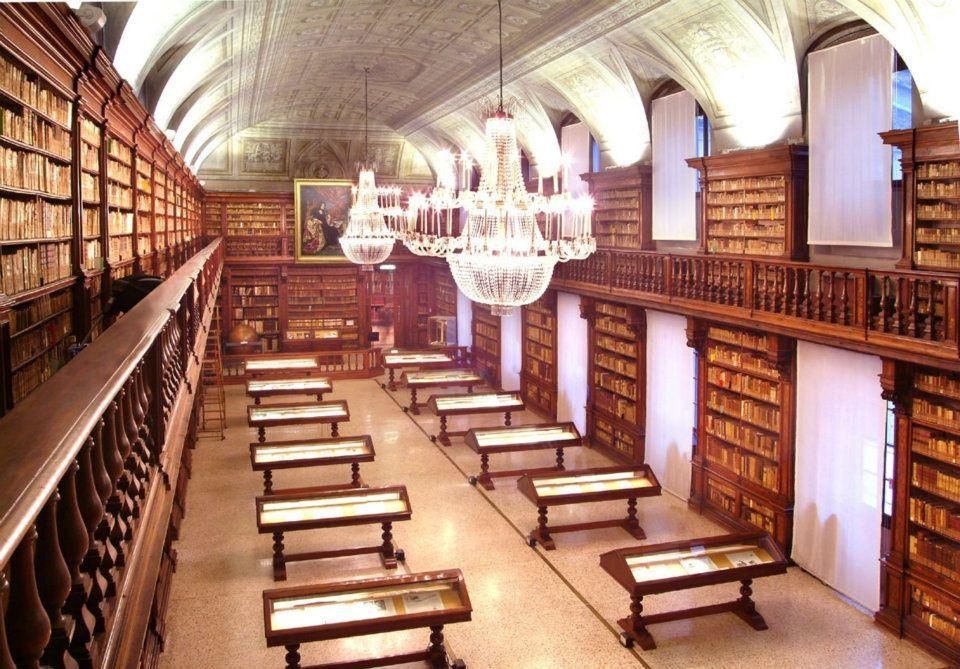 Milano, Biblioteca Braidense Sala Maria Teresa