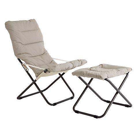 Buy Fiam Fiesta Sunlounger John Lewis Sun Lounger Outdoor Chairs Stuff To Buy