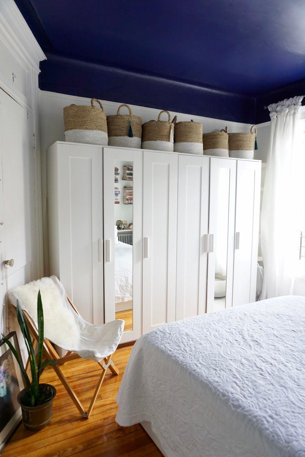 DIY Ikea Brimnes Wardrobe Handle Upgrade