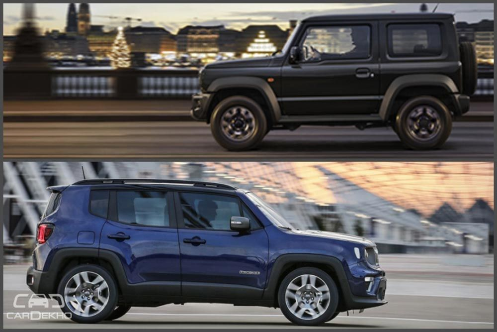 2018 Suzuki Jimny Vs Jeep Renegade Specifications Features