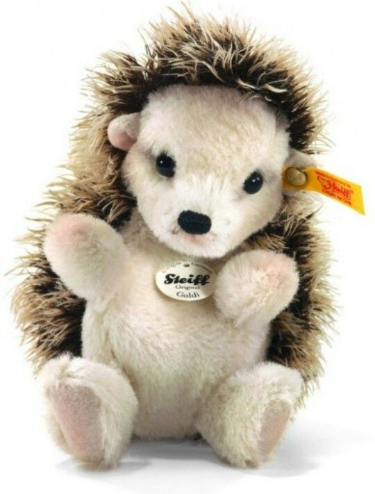 ♡ Steiff Goldy Hedgehog~Retired ♡