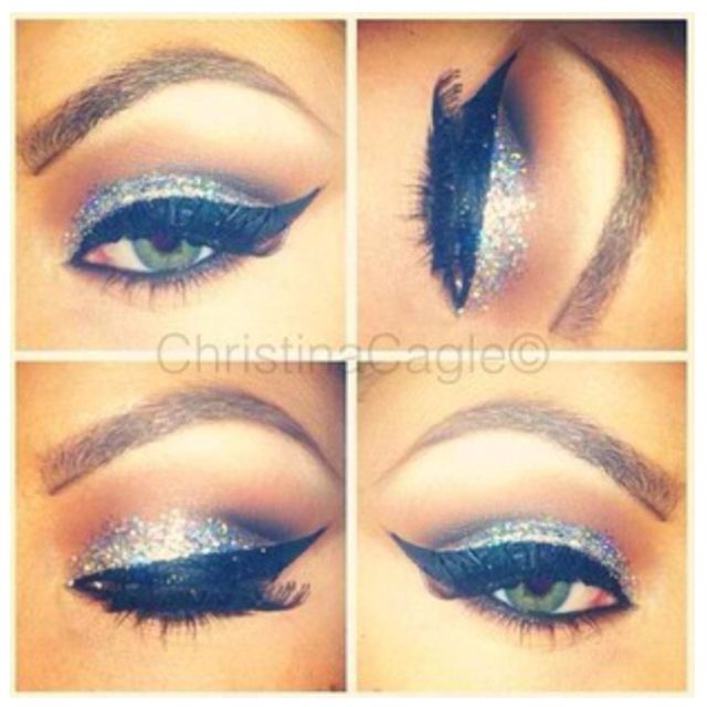 LoVeee this night time look. Just enough glitz to put a twinkle in my eye