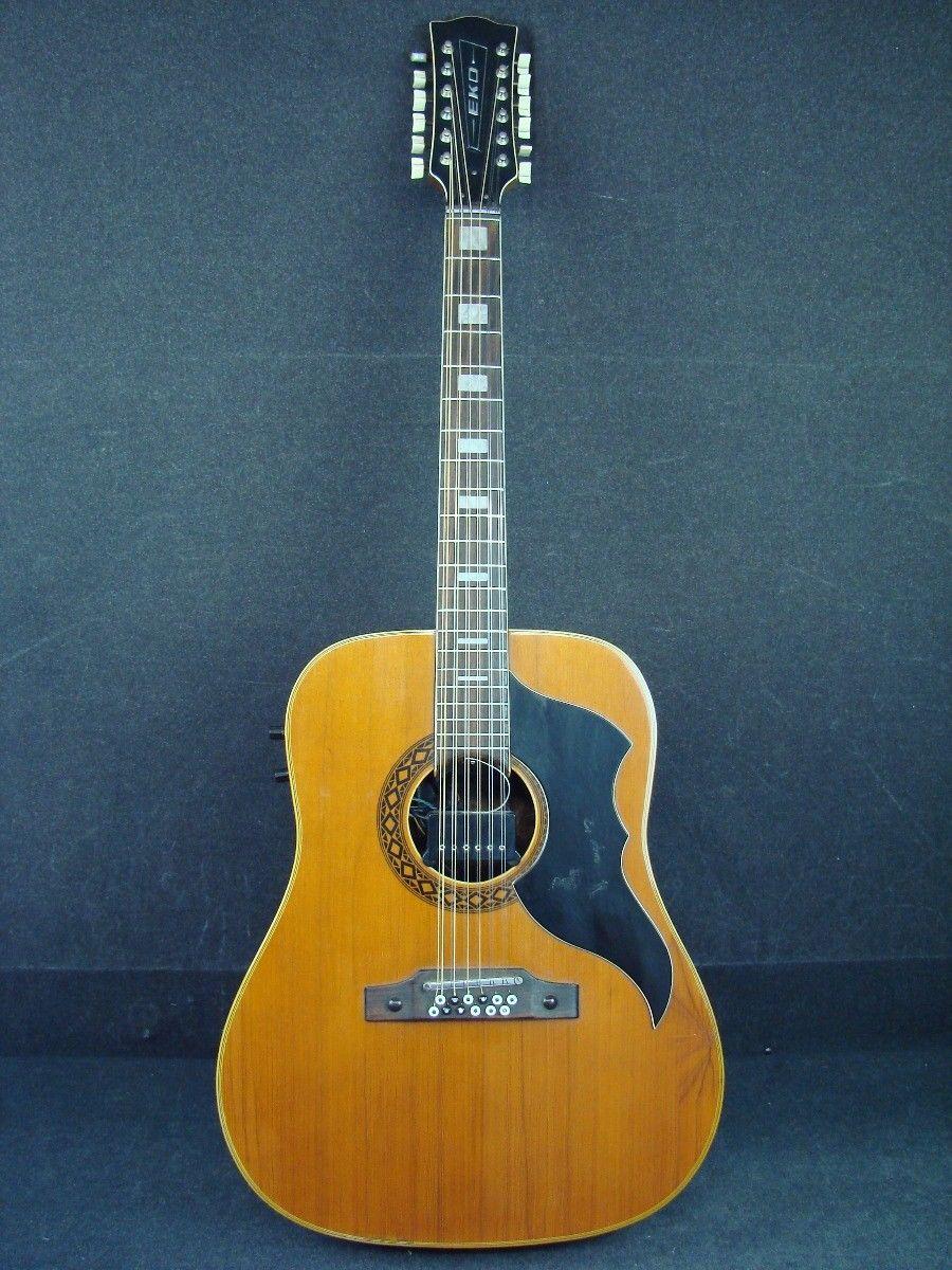 Guitar Eko Ranger 12 String Acoustic Guitar With Pickup Please