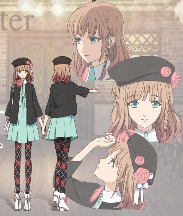 Heroine (Amnesia) Amnesia anime, Anime, Anime characters