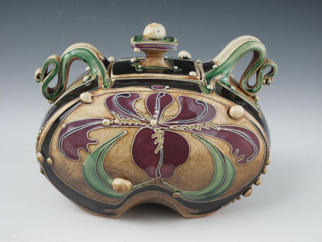 Lidded Jars - Carol Long Pottery