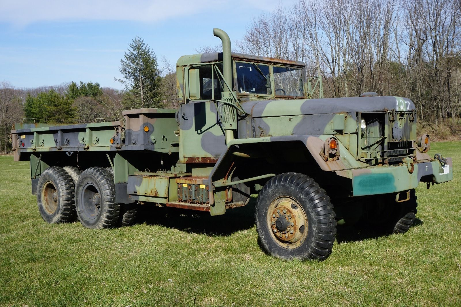 am general m813a1 5 ton 6 6 cargo truck military vehicles for sale rh pinterest com