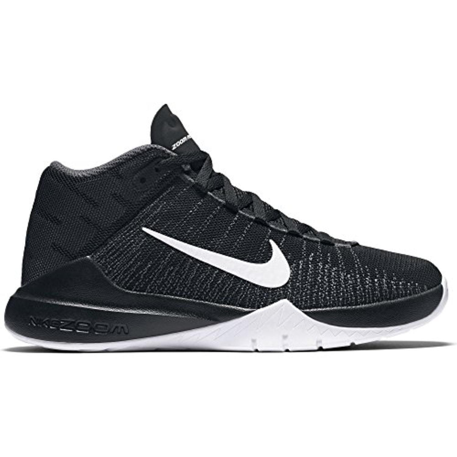 fefe204336cd Boy s Nike Zoom Ascention (GS) Basketball Shoe Black White Size 6 M US -  Brought to you by Avarsha.com