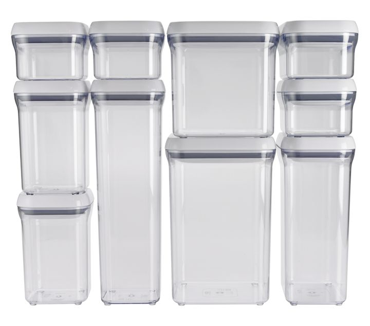 Charming Food Storage Containers 20655: Oxo 1165700 Good Grips 10 Piece Food Storage  Pop Container Set
