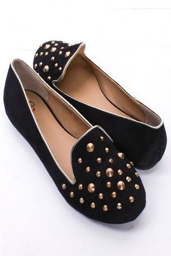 studded loafers... i have to fine these!