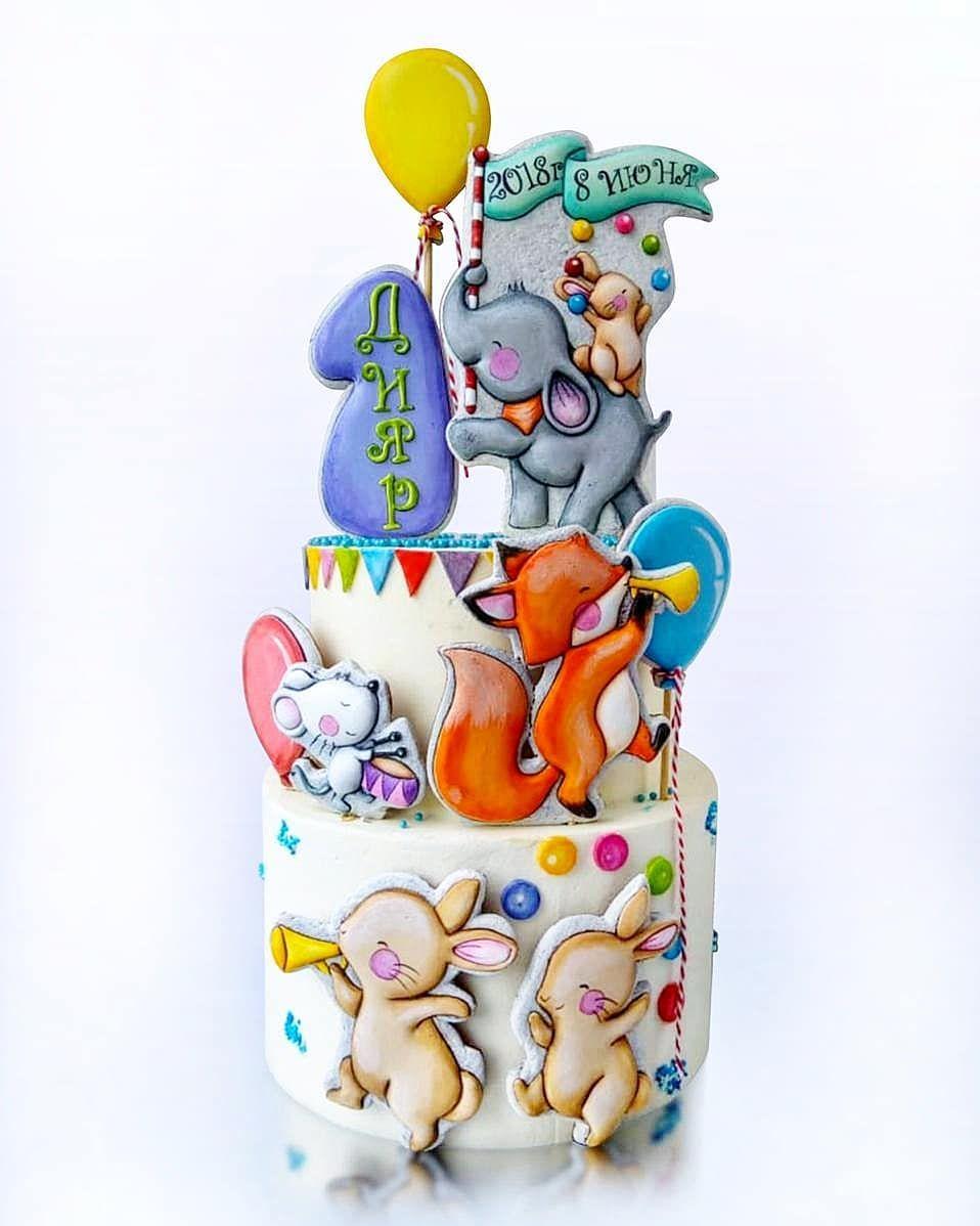 Нет описания фото. | Торты на детский день рождения, Торт ...
