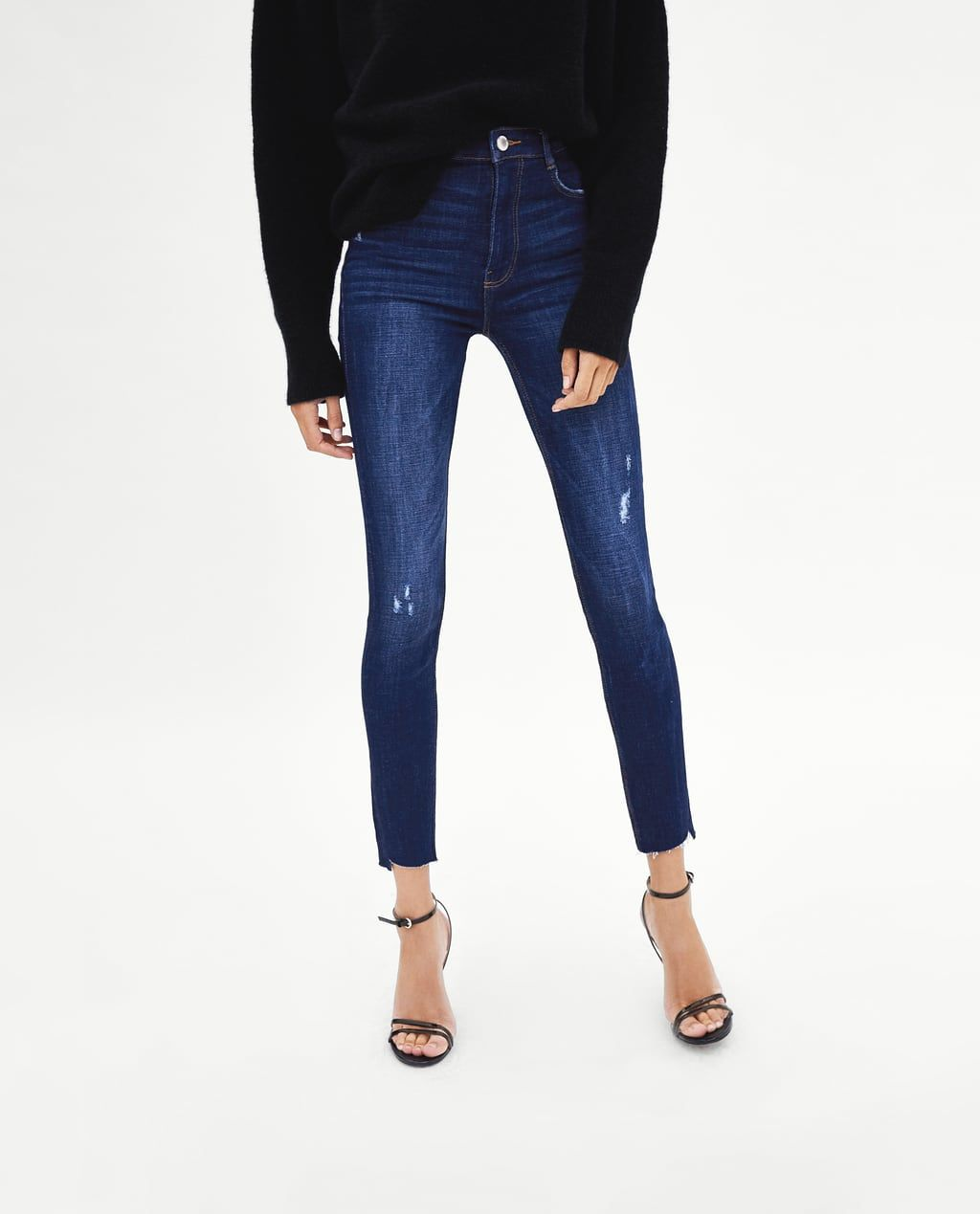 92dd936d HI-RISE SKINNY 'VINTAGE' RIPPED JEGGINGS-View All-JEANS-WOMAN | ZARA United  States