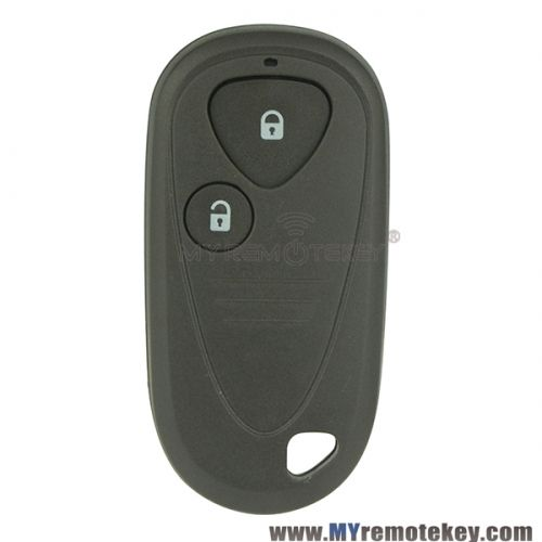 Remote Fob Shell Case 2 Button For Acura