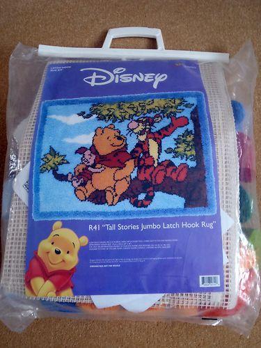 Disney Winnie The Pooh Latch Hook Rug