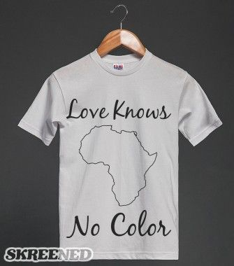 Love Knows No Color | Heavyweight T-shirt | Skreened
