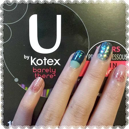 sponsored new year's eve nail art  new years eve nails