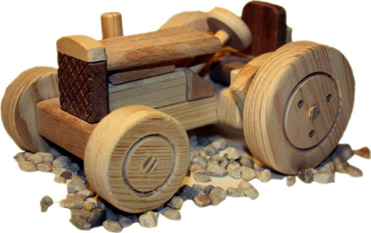 Wooden toy tractor | Toy ideas | Pinterest | Giocattoli, Trattori e ...