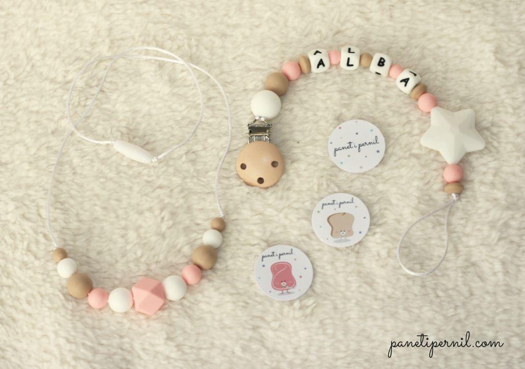 Pin De Claudia Alves En Bebé Collar Lactancia Bebe Porta Chupete
