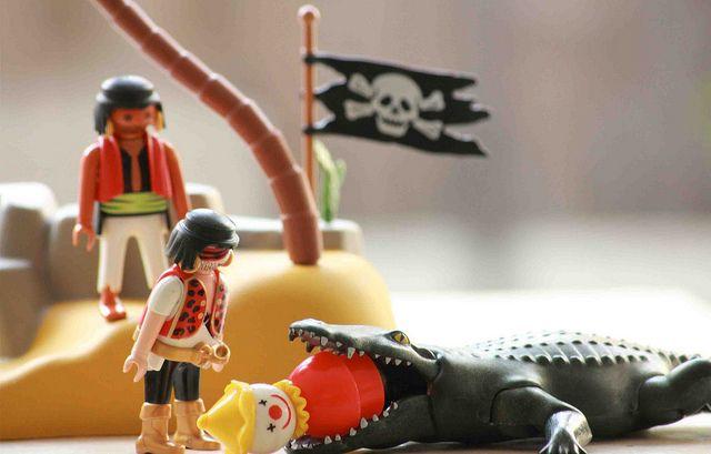Meeting pirates by prentje, via www.prentjemaakt.blogspot.nl