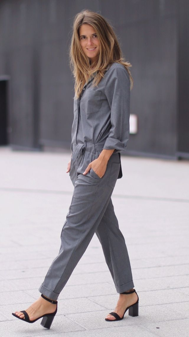 03601bcd55c1 Zara grey jumpsuit