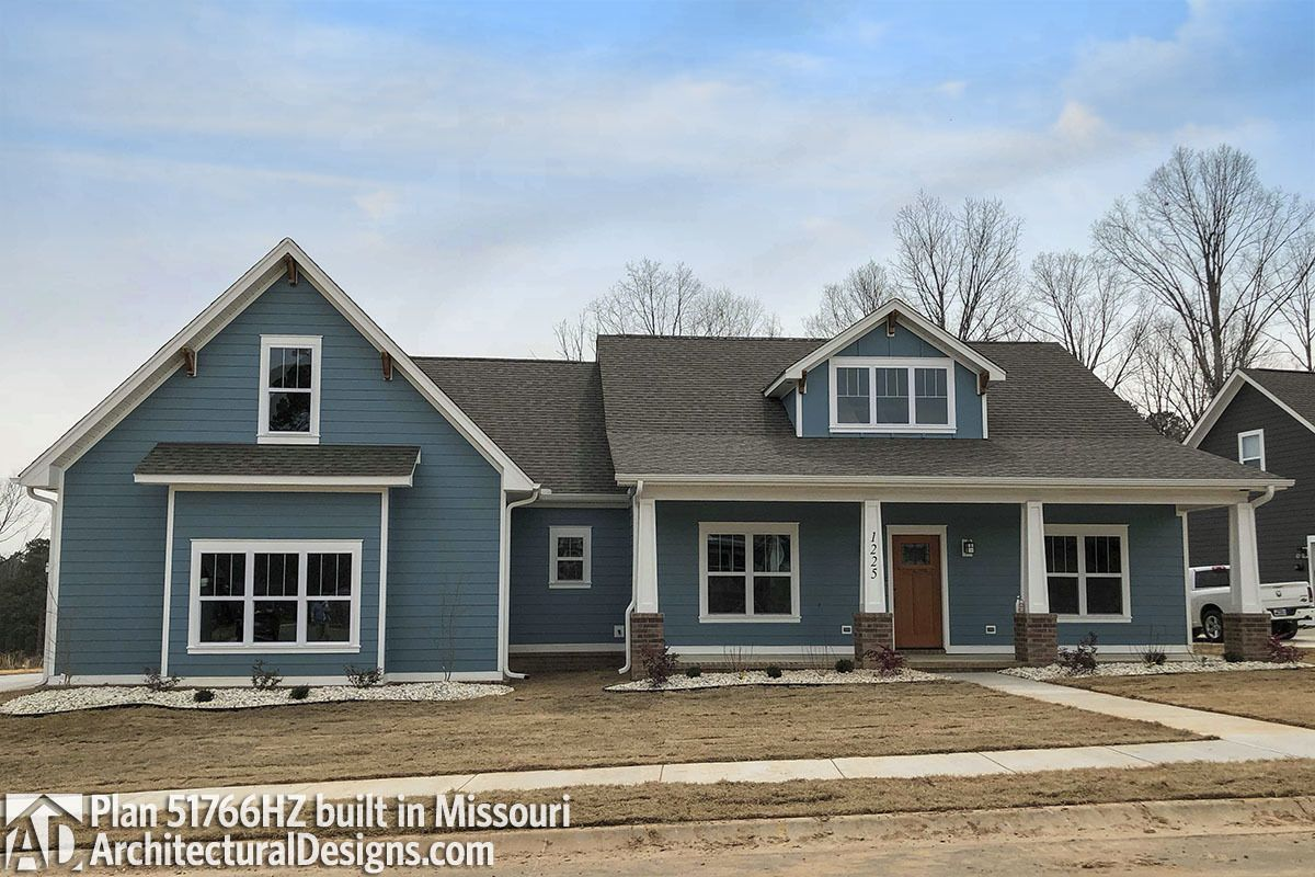 Exclusive House Plan 51766hz Comes To Life In Missouri