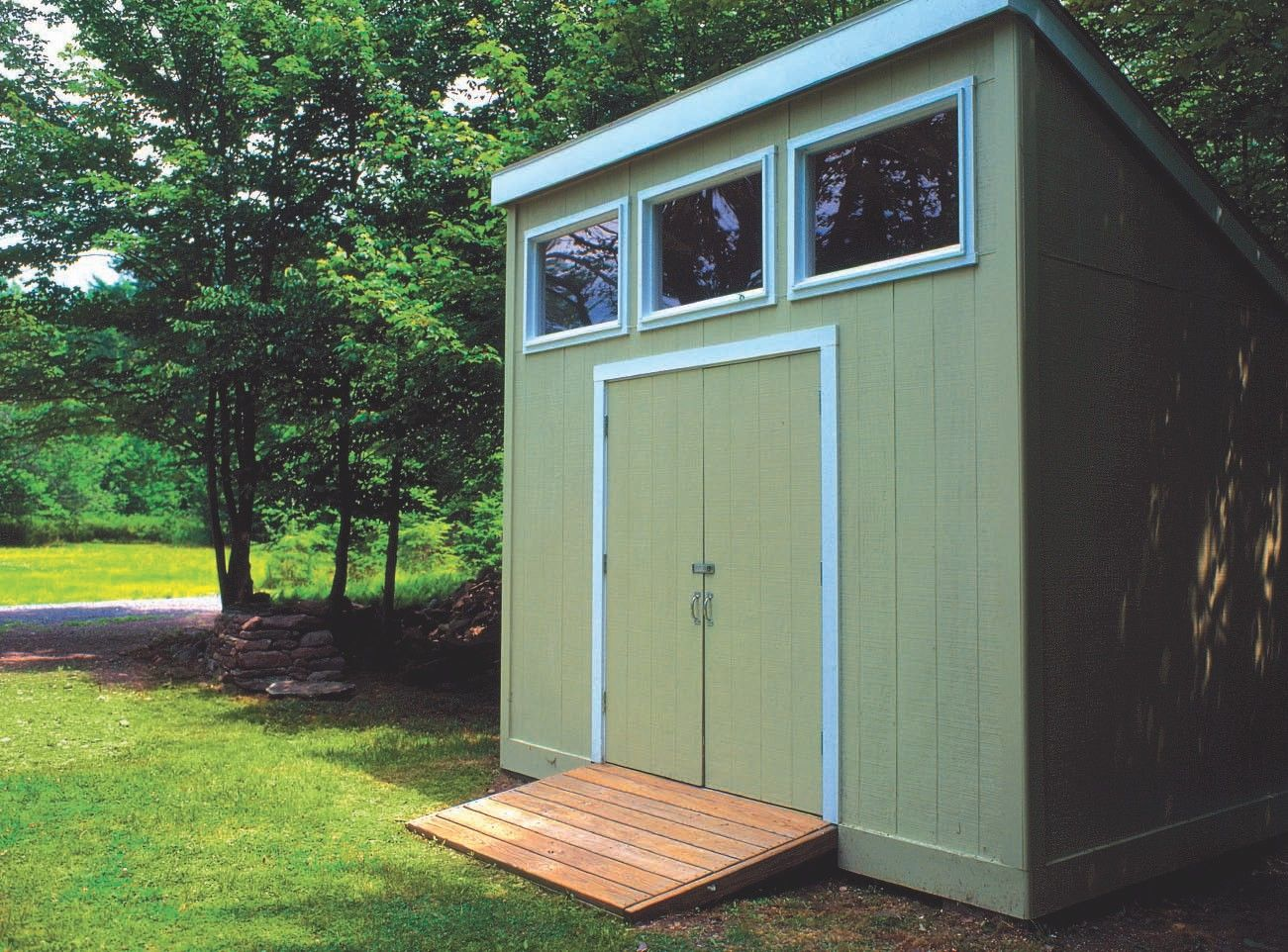 Shed plans very nice detailed plans and instructions for Very small garden sheds
