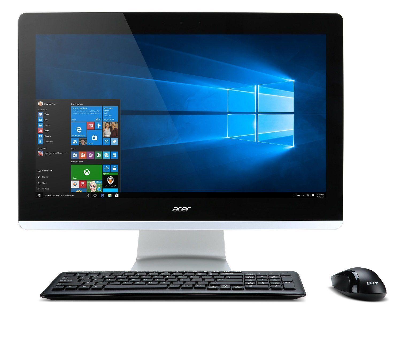 Acer Aspire Z3 705 Ordinateur De Bureau Tout En Un 21 5 Noir