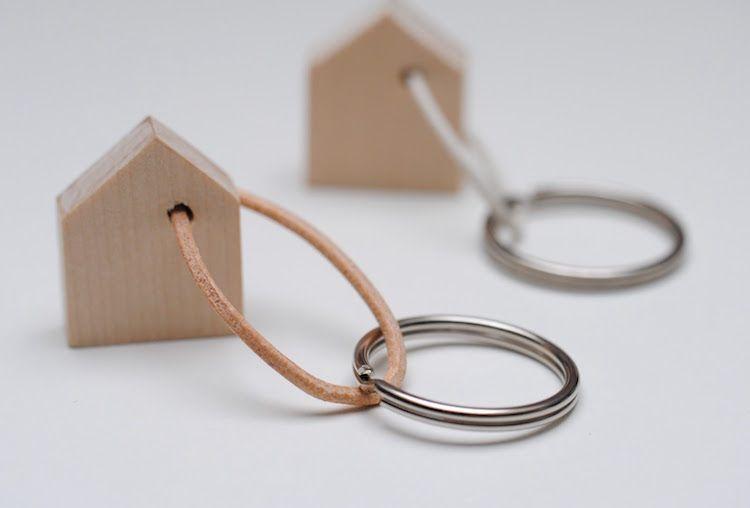 Porte clé DIY pour retrouver ses clés avec facilité et élégance   to ... cc5d8f9f6ee