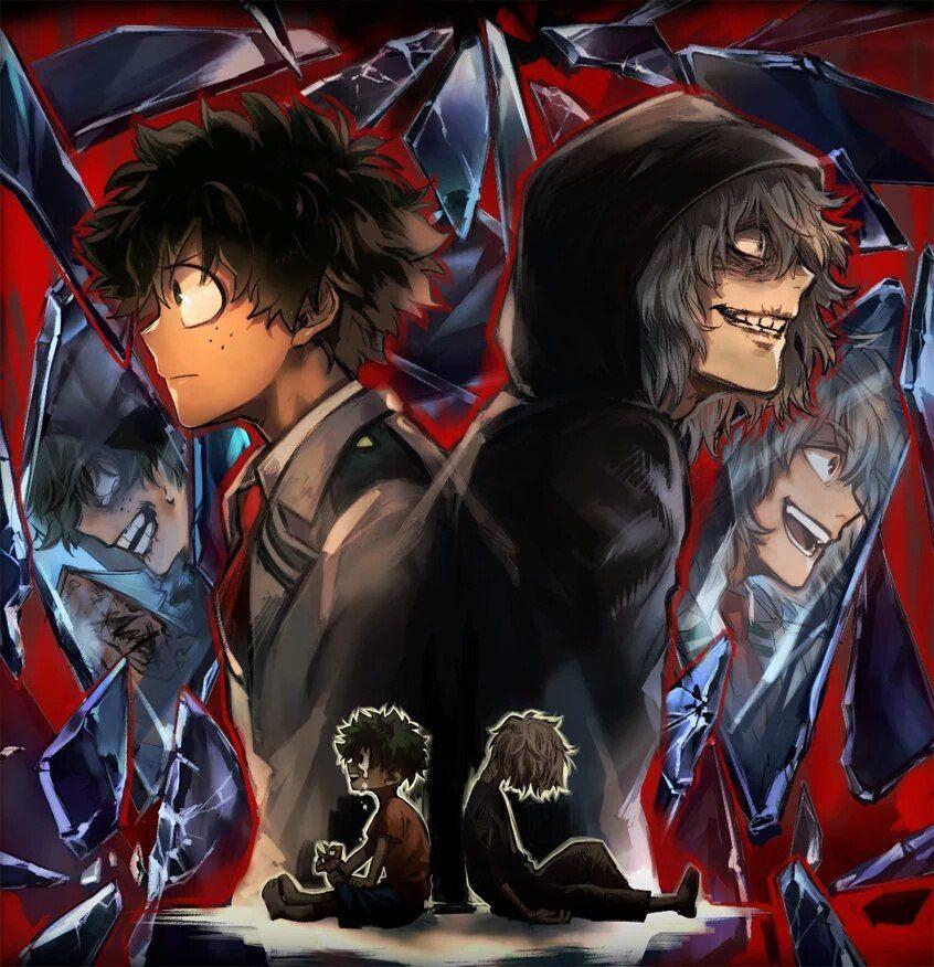 Image result for shigaraki x izuku Heroes, Siêu anh hùng