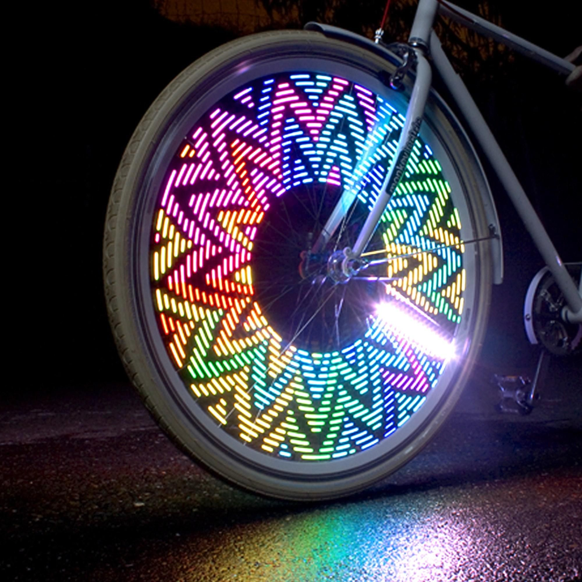 A Fun And Highly Visible Addition To Traditional Bike Lights The