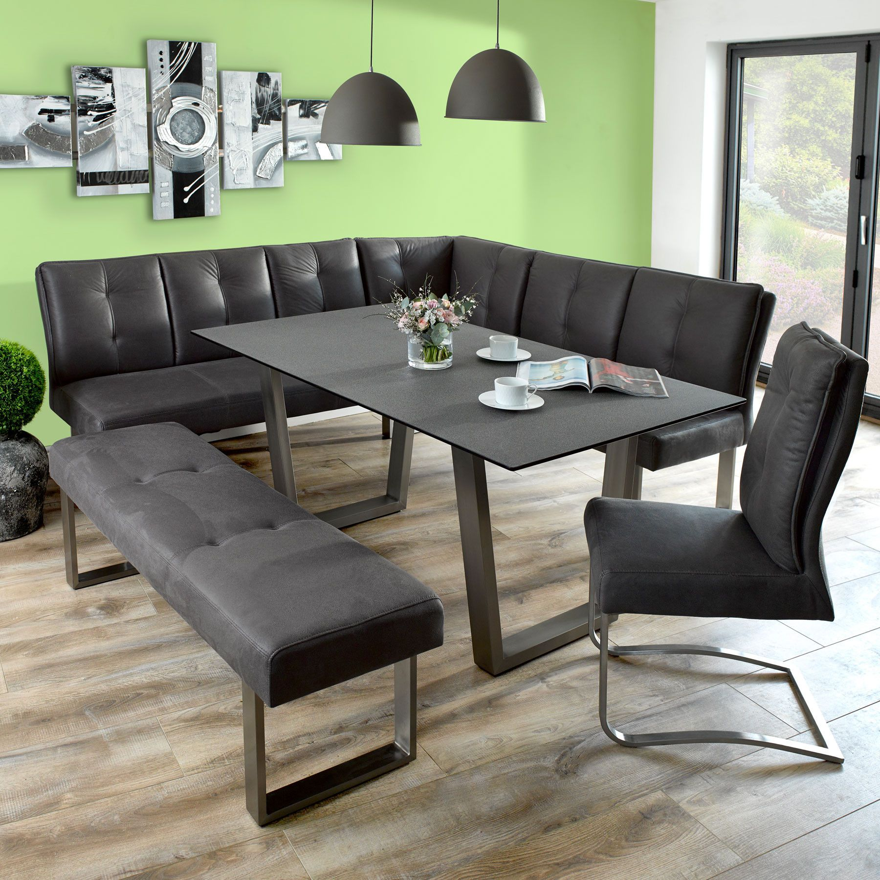 Cadeo Dining Table with Corner Bench and Small Bench | dining room ...