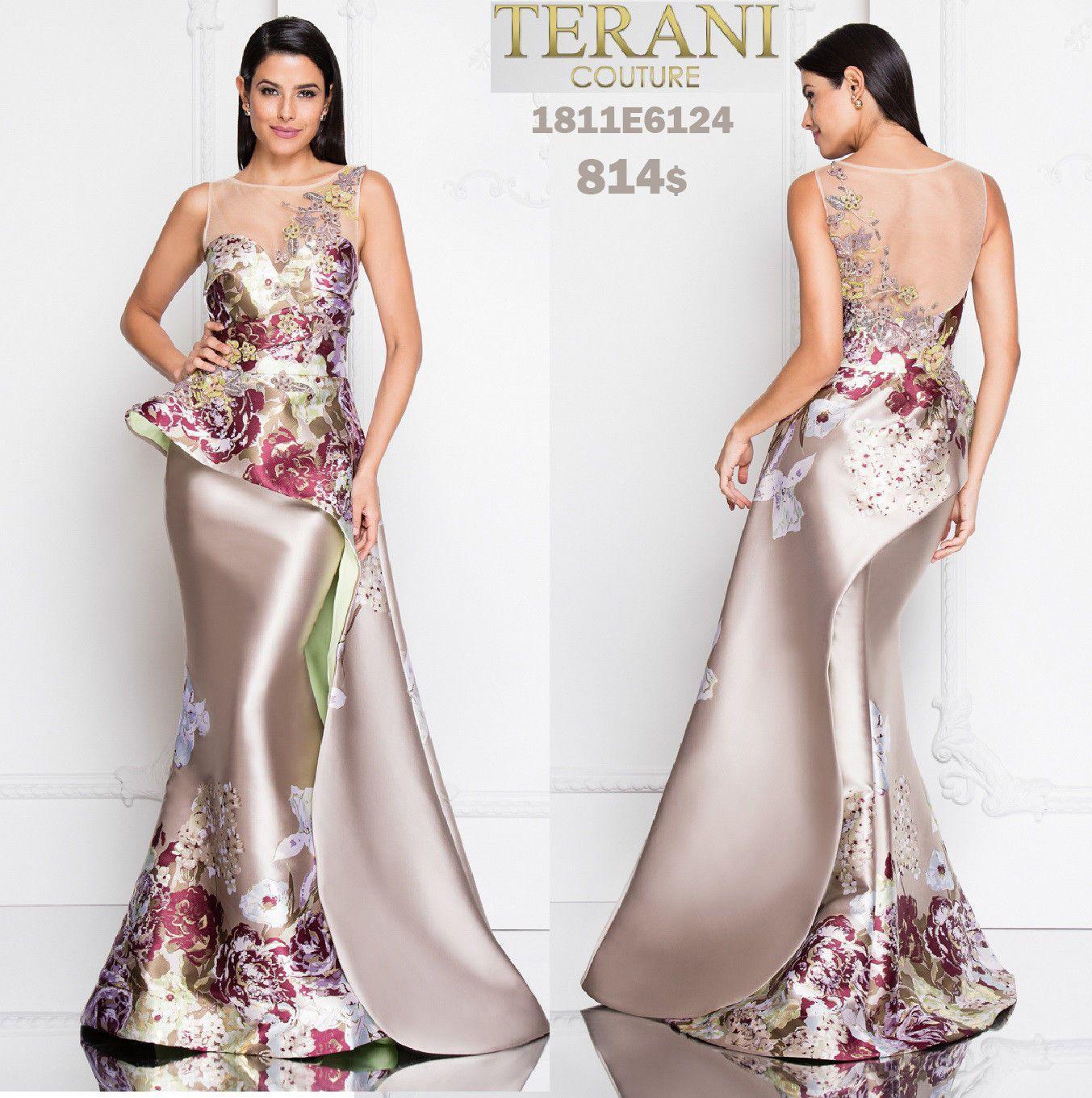 Abiti Da Sera Economici Ebay.Terani 1811e6124 Authentic Dress Free Ups Usps Limited Stock
