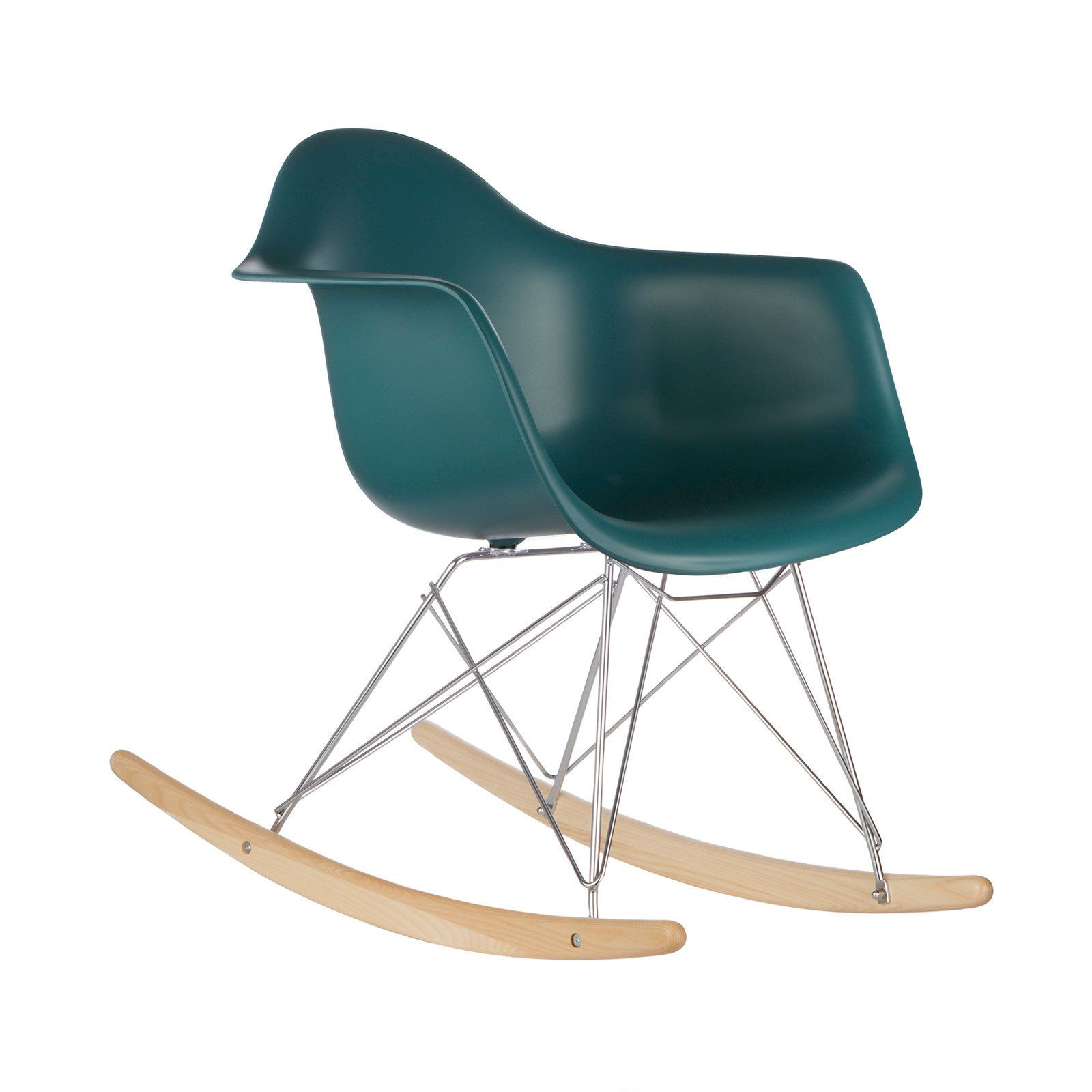 Chase the doldrums away with the Edgemond Eames style rocker chair