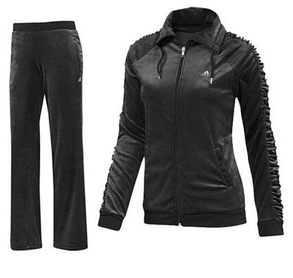 adidas velour tracksuit. women\u0027s adidas velour tracksuit | - velour suit adidas clothing, adidas, leisure, s