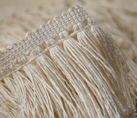 Cut fringe in bamboo