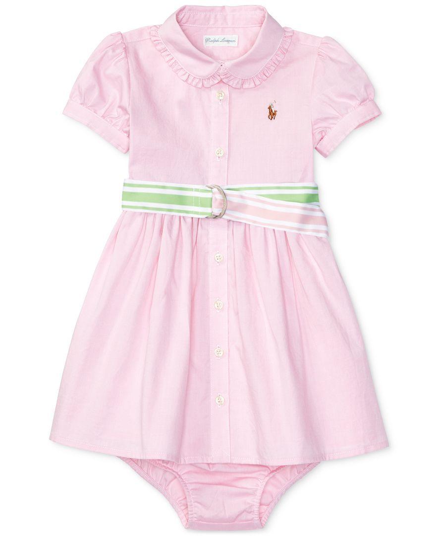 63e84bb4c Ralph Lauren Oxford Shirtdress, Baby Girls (0-24 months ...