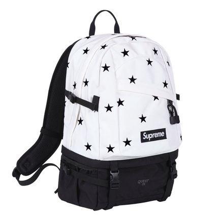 Supreme 新作! 13AW : Stars Backpack 4色