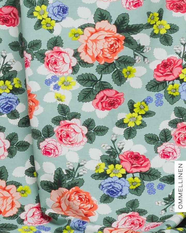Babushka Roses Spring by  Elina Antila