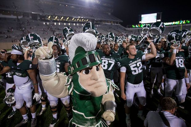 17 Things You Didn T Know About Sparty King Of The Big Ten Mascots Espn College Football College Football College Football Playoff