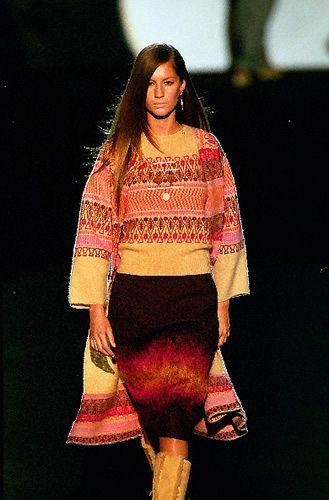 Anna Sui Outono Inverno 1999