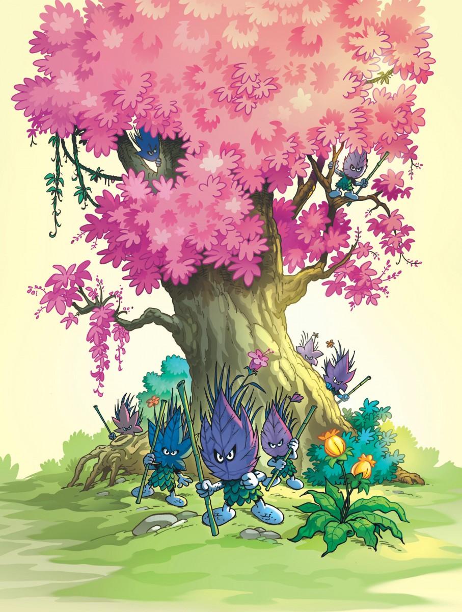 The Forbidden Forest In 2020 Forbidden Forest Smurfs Forest