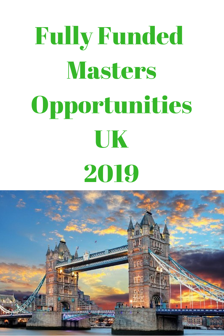Fully Funded Masters Opportunities UK 2019 The London School