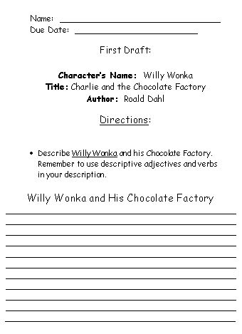 Charlie and the Chocolate Factory by Roald Dahl: Teaching ...
