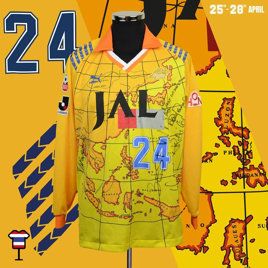 c74c6d18f Classic Football Shirts Museum is coming to Thailand A display of the  greatest shirts